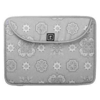 Retro Bandana Silver Gray Macbook Pro Flap Sleeve Sleeve For MacBooks