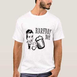 Retro Barfday Boy - Black & White T-Shirt