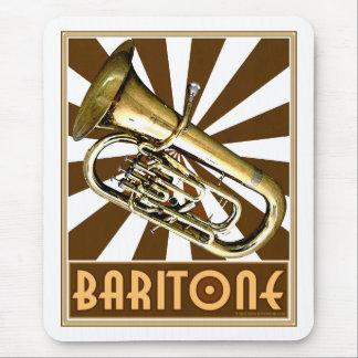 Retro Baritone Mouse Pad