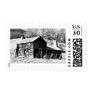 Retro Barn Postage