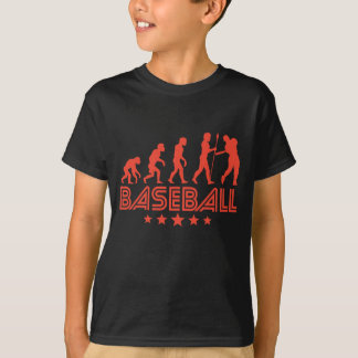 Retro Baseball Evolution T-Shirt