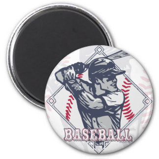 Retro Baseball Shirts and Gift Items Magnet