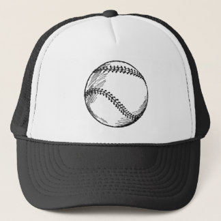 Retro Baseball Trucker Hat