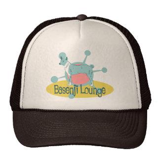 Retro Basenji Lounge Trucker Hat