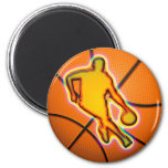 RETRO BASKETBALL MAGNETS