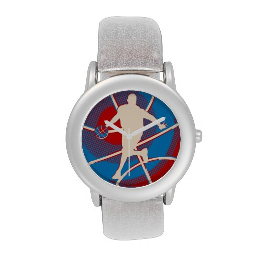 Retro Basketball Player Watches