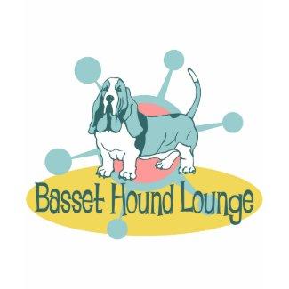 Retro Basset Hound Lounge shirt