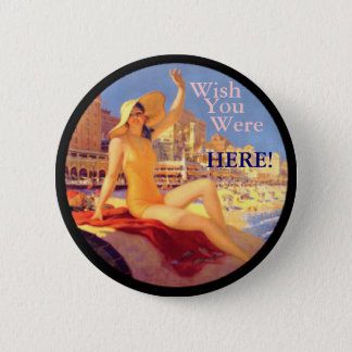 Retro Bathing Beauty button
