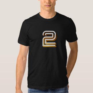 Retro BBC2 television ident logo T-Shirt