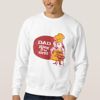 Retro BBQ Chef Personalized Sweatshirt