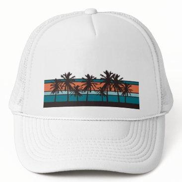 Beach Themed Retro Beach Hat
