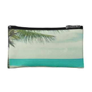 Retro Beach Theme Makeup Bag