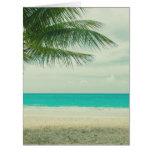 Retro Beach Theme Card