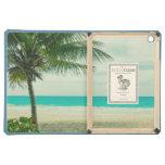 Retro Beach Theme iPad Air Covers