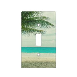 Retro Beach Theme Light Switch Cover