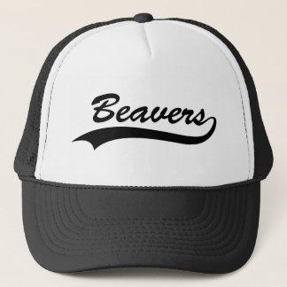 Retro Beaver Trucker Hat