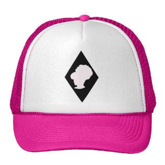 Retro BeeHive Diamond Cameo Trucker Hat
