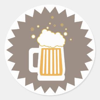Retro Beer Mug | Stickers
