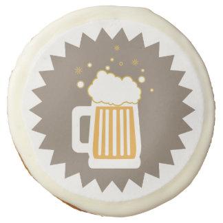 Retro Beer Mug Sugar Cookies