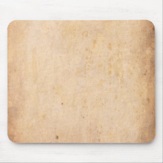 Retro Beige Grunge Pattern Mouse Pad