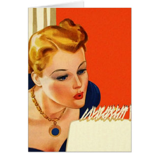 Retro Belated Awesome Birthday Sorry note Card
