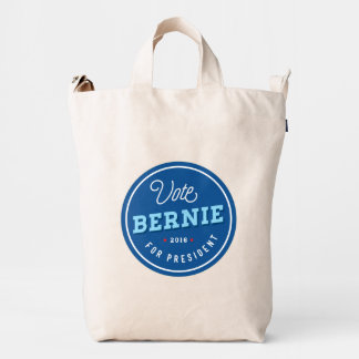 Retro Bernie Duck Canvas Bag