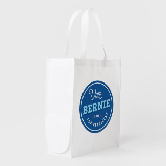 Retro Bernie Reusable Grocery Bag