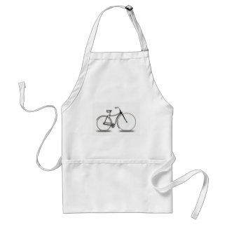 Retro bicycle adult apron