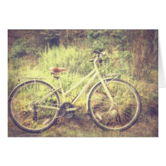 Retro Bicycle Card