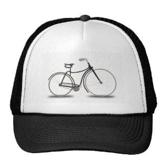 Retro bicycle trucker hats