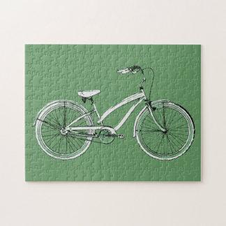retro bicycle jigsaw puzzle