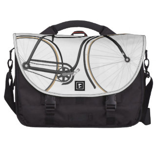 Retro bicycle laptop bags