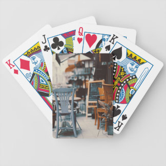 Retro Bicycle Playing Cards