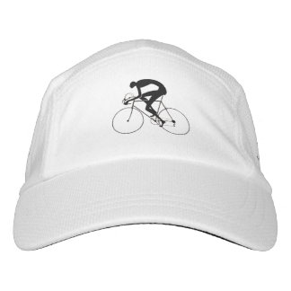 Retro Bicycle Silhouette 1986 Headsweats Hat