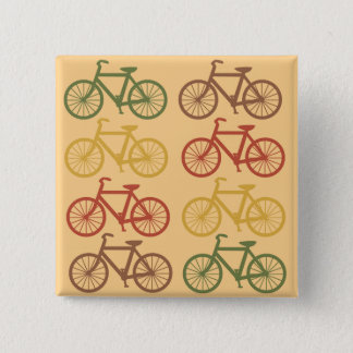 Retro Bicycles Button