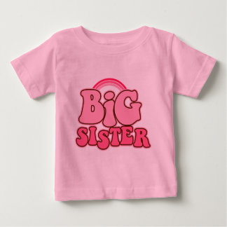 Retro Big Sister Baby T-Shirt