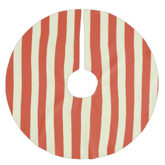 Retro Big Top Striped Christmas Tree Skirt