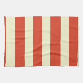 Retro Big Top Striped Kitchen Towels