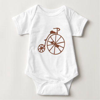 Retro Bike Baby Bodysuit