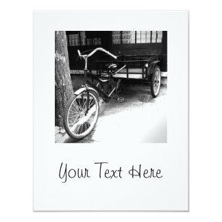 Retro bike card