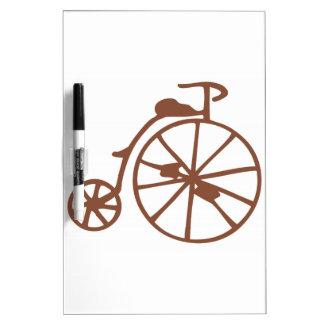 Retro Bike Dry-Erase Board