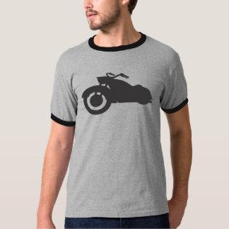 retro bike in black t shirt