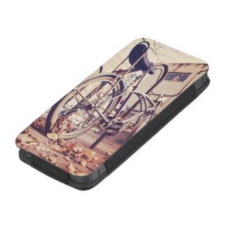 Retro bike iPhone SE/5/5s/5c pouch