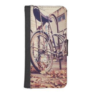 Retro bike iPhone SE/5/5s wallet