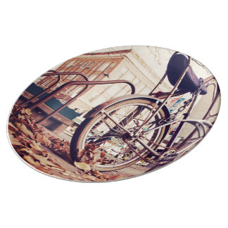 Retro bike plate
