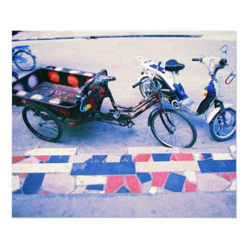 Retro bikes vintage whimsical photo