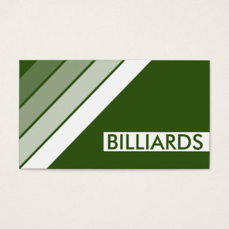 retro BILLIARDS Business Card