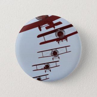 Retro Biplane Button