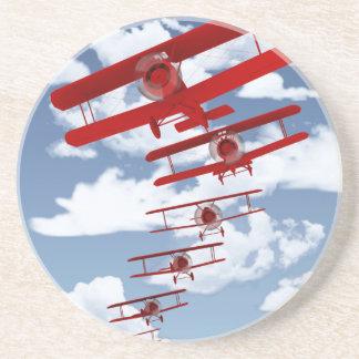 Retro Biplane Coasters