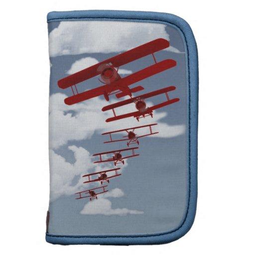 Retro Biplane Folio Planner
